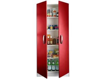 wiho Küchen Mehrzweckschrank »Amrum«, rot, Rot Glanz