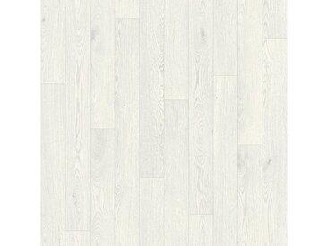 Andiamo ANDIAMO Vinylboden »Leine«, Breite 300 cm, Meterware, Stab-Optik, weiß, altweiß