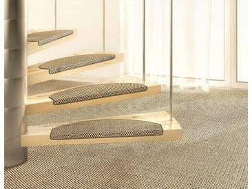 Dekowe Stufenmatte »Brasil«, stufenförmig, Höhe 10 mm, Sisal, braun, 10 mm, natur-braun