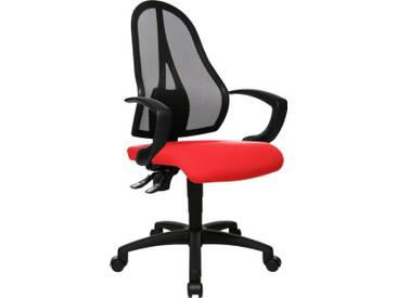 TOPSTAR Bürostuhl »Open Point P«, rot, rot