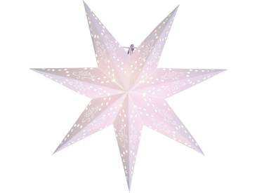 STAR Star Papierstern zum Hängen, mit Kabel »Metasol«, weiß, Breite x Tiefe x Höhe in cm : 54 x 16 x 54, Weiß