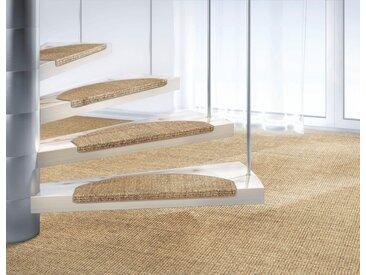 Dekowe Stufenmatte »Mara S2«, stufenförmig, Höhe 5 mm, Obermaterial: 100% Sisal, natur, 5 mm, champagner-meliert