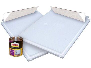 KWAD Kwad Styroporplatten, für Rundpool »Steely Deluxe Heat«, in 3 Größen, weiß, Ø 460 cm, weiß