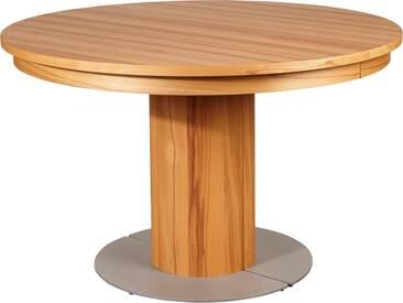 VENJAKOB Säulen-Kulissentisch mit Auszugsfunktion »my home«, runde Tischplatte, Ø 100 cm, braun, Kernbuche