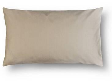 Casa di Bassi Kissenhüllen »in schmaler Form«, ÖkoTex 100 Standard 100, natur, Baumwolle, beige