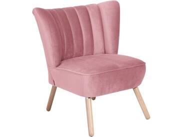 Max Winzer® Stuhlsessel im Retrostil »Aspen«, rosa, rosa