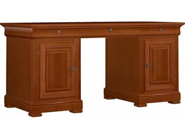 SELVA Schreibtisch »Constantia« Modell 6500, furniert in vier schönen Holzfarben, braun, kirschbaumfarbig antik
