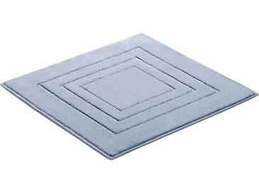 Vossen Badematte »Feeling« , Höhe 10 mm, fußbodenheizungsgeeignet, blau, 10 mm, blue jewel