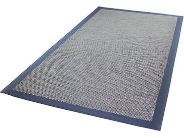Dekowe Teppich »Color«, rechteckig, Höhe 4 mm, Flachgewebe, Sisaloptik, In- und Outdoor geeignet, blau, ocean