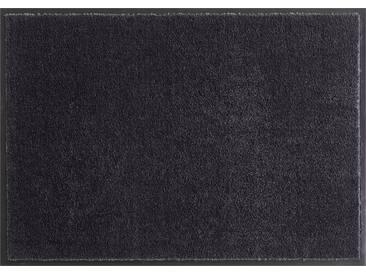 HANSE Home Fußmatte »Deko Soft«, rechteckig, Höhe 7 mm, saugfähig, waschbar, grau, 7 mm, anthrazit