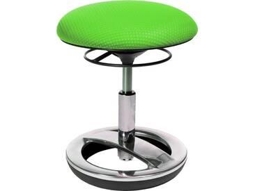 TOPSTAR Topstar Dreh-Hocker »Sitness Bobby alu-poliert«, grün, grün