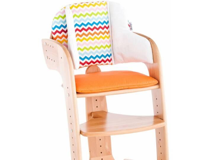 Herlag ® Sitzpolster für Hochstuhl Tipp Topp Comfort IV, »orange« Orange