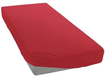 Pinolino® Spannbettlaken »Josy«, in kuscheligem Jersey für Babys, rot, Jersey, rot
