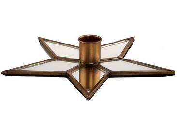 BUTLERS X-MAS »Kerzenhalter Stern«, Länge 18 x Breite 18 cm
