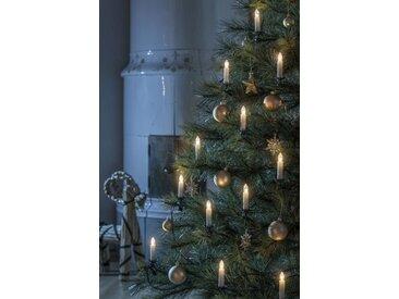 KONSTSMIDE LED Baumkette, Topbirnen, One String, weiß, Lichtquelle warm-weiß, Weiß