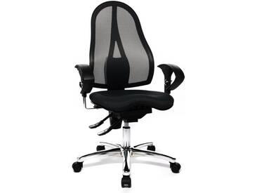 TOPSTAR Bürostuhl »Sitness 15 ST19U«, in 2 Farben mit dreidimensional beweglicher Sitzfläche, schwarz, schwarz