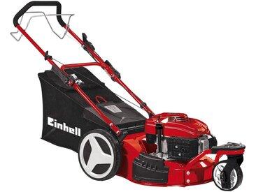 Einhell EINHELL Benzin-Rasenmäher »GC-PM 46 S HW-T«, 46 cm Schnittbreite, mit Radantrieb, rot, rot