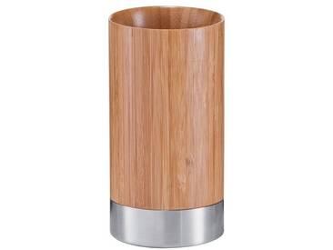Zeller Present Zeller Zahnputzbecher »Bamboo«, braun, braun