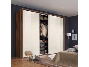nolte® Möbel Schwebetürenschrank (2-oder 3-türig) »Marcato 1C« mit Fronten aus Glas, Korpus nussbaum, 3-türig, Breite 300 cm, 3-türig, Breite 300 cm