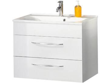 FACKELMANN Waschtischunterbau »Sceno«, Breite 79,5 cm, weiß, weiß