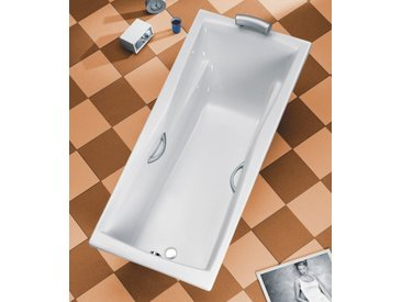 OTTOFOND Badewanne »Atlanta«, 180 x 80 cm / 190 x 90 cm, inkl. Wannenträger, 80 cm, 180 cm, 180 cm