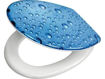 Kleine Wolke WC-Sitz »Bubble«, blau, marine