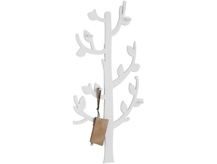 Home affaire , Garderobe »Baum«, weiß, weiß Weiß