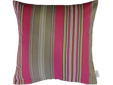 Tom Tailor Kissenhülle »Weave Line«, rosa, Polyester, pink-schlamm