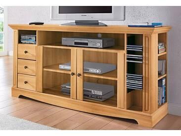 Home affaire TV-Tisch, Breite 153 cm, Belastbarkeit bis 40 kg, natur, geölt