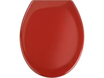 WENKO Premium WC-Sitz Ottana, mit Absenkautomatik, rot, rot