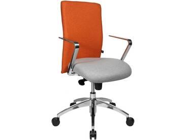 TOPSTAR Bürostuhl »Commander«, grau, grau/orange