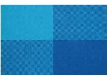 Contento contento Tischsets, »Zarah«, 45x30 cm (4 Stück), blau, Vinyl, blau
