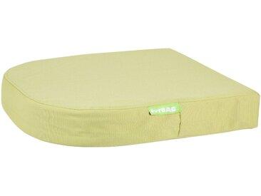 OUTBAG Auflage »Moon pillow PLUS«, robust und wasserdicht, B/L: 45x45 cm, grün, 1 Auflage, grün