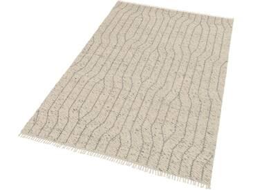 SCHÖNER WOHNEN-KOLLEKTION Teppich »Sense 181«, rechteckig, Höhe 15 mm, silberfarben, 15 mm, silberfarben