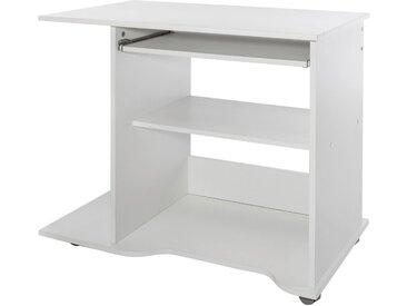 Wilmes Nähmaschinen-Tisch, Maße80x50x75 cm, weiß, weiß