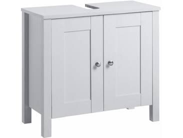 welltime Waschbeckenunterschrank »Jels«, weiß, weiß