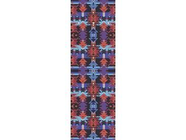 Artland Wandgarderobe »Jule: Ethnostyle II«, rot, 140 x 45 x 2,8 cm, Rot