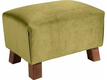Max Winzer® Hocker »Footstool« unifarben, grün, oliv