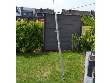 Floracord FLORACORD Mast »Alu«, für Sonnensegel bis 25 m², silberfarben, silberfarben
