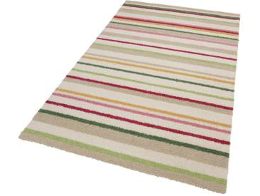 Esprit Kinderteppich »Bunte Streifen«, rechteckig, Höhe 15 mm, natur, 15 mm, beige