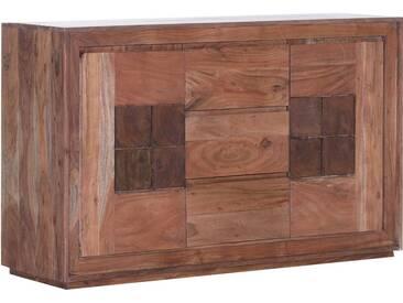 Gutmann Factory Sideboard »Timber« aus massivem Akazienholz, in zwei, Breiten, natur, 140/45/86 cm, Akazie