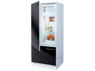 wiho Küchen Kühlmodul »Ahus«, mit ****-Kühlschrank AMICA »EKS16161«, schwarz, Schwarz