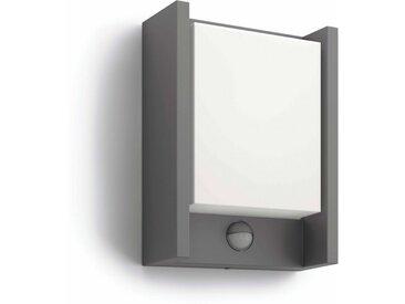 Philips LED Außen-Wandleuchte »myGarden Arbour 600lm, Anthrazit, Bewegungsmelder«, 1-flammig