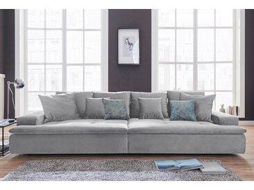 Nova Via Big-Sofa, grau, 300 cm, grau