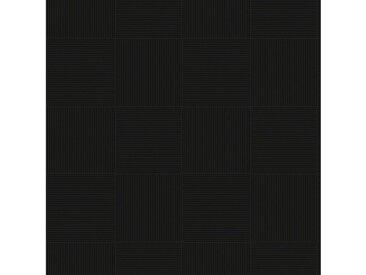 Andiamo ANDIAMO Vinylboden »Coupon Chart«, verschiedene Breiten, Meterware, Fliesen-Optik, schwarz, 200 cm, schwarz