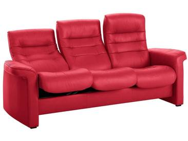 Stressless® 3-Sitzer Sofa High »Sapphire«, in Kinosessel-Optik, rot, chilli red