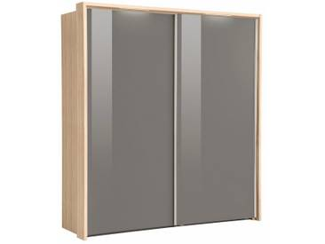 nolte® Möbel Schwebetürenschrank (2-oder 3-türig) »Marcato 1C« mit Fronten aus Glas, Korpus sonoma eiche, 2-türig, Breite 200 cm, 2-türig