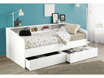 Parisot Bett inkl. Schubkasten-Set »Sleep«, weiß, weiß