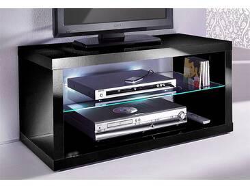 HMW TV-Tisch, Möbel, Breite 95 cm, schwarz, schwarz