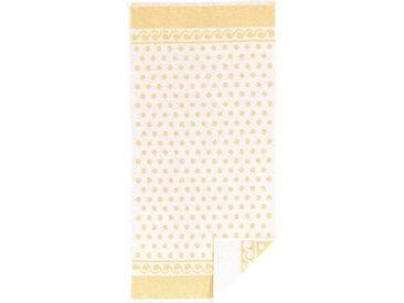 ROSS Frottiertücher, gelb, gelb